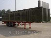 Guangke YGK9320XXY box body van trailer