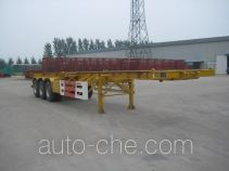 Guangke YGK9360TJZG container transport skeletal trailer