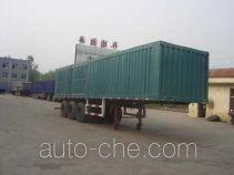 Guangke YGK9380XXY box body van trailer