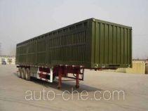 Guangke YGK9400XXYE box body van trailer