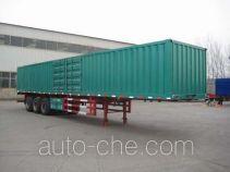 Guangke YGK9401XXY box body van trailer