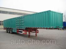 Guangke YGK9402XXY box body van trailer