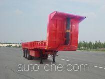 广科牌YGK9403TZX型自卸半挂车