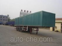 Guangke YGK9403XXY box body van trailer