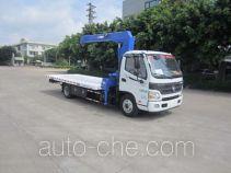 粤海牌YH5080TQZ184P型清障车