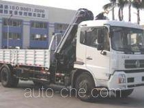 粤海牌YH5121JSQ01型随车起重运输车