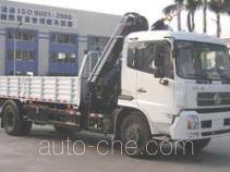 粤海牌YH5160JSQ01型随车起重运输车