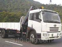 粤海牌YH5160JSQ12型随车起重运输车