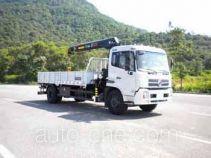 粤海牌YH5161JSQ01型随车起重运输车