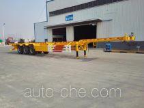 华劲牌YJH9400TJZED型集装箱运输半挂车