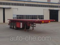 Huajing YJH9400ZZXP flatbed dump trailer