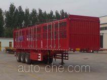 华劲牌YJH9401CCY型仓栅式运输半挂车