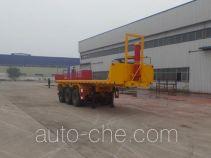 Huajing YJH9401ZZXPH flatbed dump trailer
