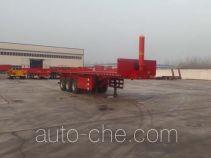Huajing YJH9402ZZXP flatbed dump trailer