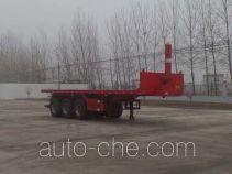 Huajing YJH9403ZZXP flatbed dump trailer