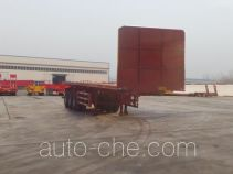 Huajing YJH9404ZZXP flatbed dump trailer