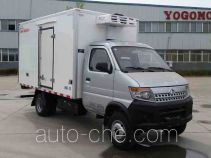 御捷马牌YJM5035XLC型冷藏车