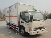 Yogomo YJM5042XRQ flammable gas transport van truck