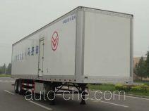 Yogomo YJM9350XBW insulated van trailer