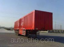 Junxiang YJX9404XXYZ box body van trailer