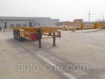 Yunyu YJY9400TWY dangerous goods tank container skeletal trailer