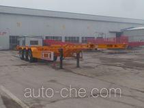 Yunyu YJY9400TWYE dangerous goods tank container skeletal trailer