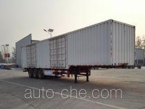 Yunyu YJY9400XXYE box body van trailer
