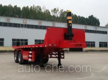 Liangfeng YL9350ZZXP flatbed dump trailer