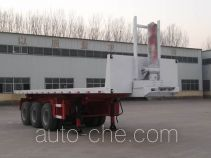Liangfeng YL9401ZZXP flatbed dump trailer