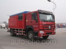 Youlong YLL5121TQL hot oil (water) dewaxing truck