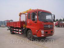 油龙牌YLL5160JSQ型随车起重运输车