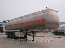 Youlong aluminium oil tank trailer