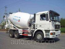 亚隆牌YMK5255GJB型混凝土搅拌运输车