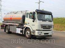 Yongqiang YQ5160GYYCTZ aluminium oil tank truck