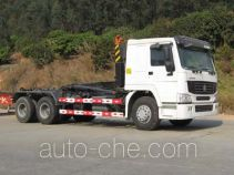 Yongqiang YQ5257ZXX detachable body garbage truck
