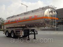 Yongqiang YQ9314GRYSMA flammable liquid aluminum tank trailer