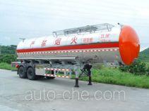 永强牌YQ9320GHY型化工液体运输半挂车