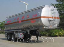 永强牌YQ9340GYYF2型铝合金运油半挂车