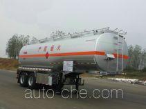 永强牌YQ9350GYYCF2型运油半挂车