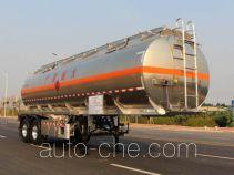 永强牌YQ9351GYYT1型铝合金运油半挂车