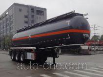 永强牌YQ9401GFWY2型腐蚀性物品罐式运输半挂车