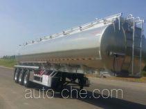 Yongqiang YQ9400GYSCT1 aluminium liquid food tank trailer