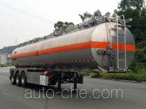 永强牌YQ9400GYYT2型铝合金运油半挂车