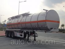 Yongqiang YQ9401GHY chemical liquid tank trailer