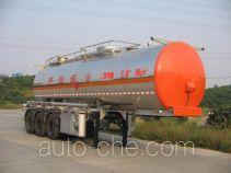 Yongqiang YQ9401GHYA chemical liquid tank trailer