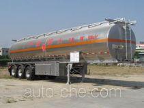 Yongqiang YQ9401GHYB chemical liquid tank trailer