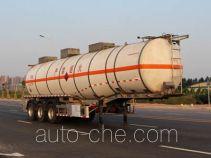 Yongqiang YQ9401GRYY1 flammable liquid aluminum tank trailer