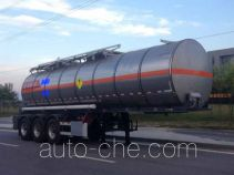 Yongqiang YQ9401GYWY2 oxidizing materials transport tank trailer