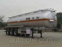 Yongqiang YQ9404GHYA chemical liquid tank trailer