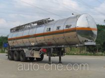 Yongqiang YQ9404GHYB chemical liquid tank trailer